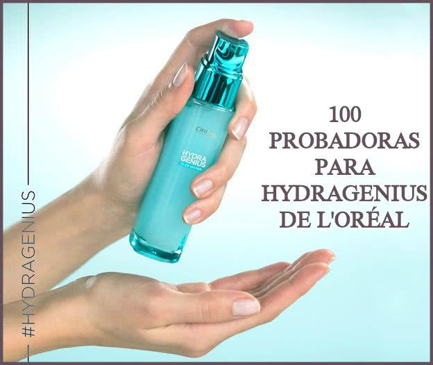 Testers LOréal 100 Probadoras Hydragenius